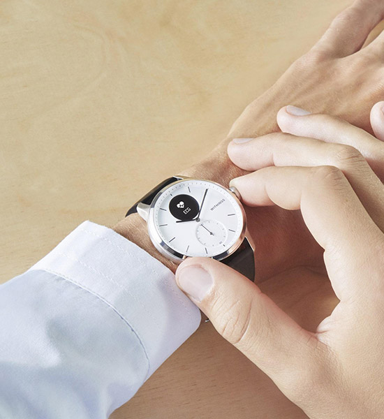 Withings homme scanwatch