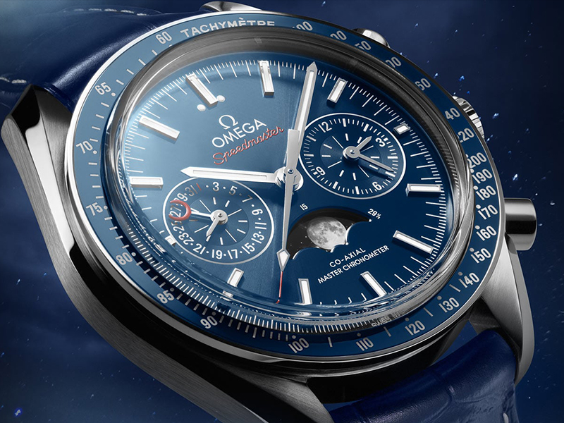 Omega Seamaster moonphase