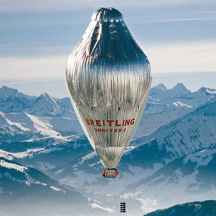 Breiling, tour du monde en ballon