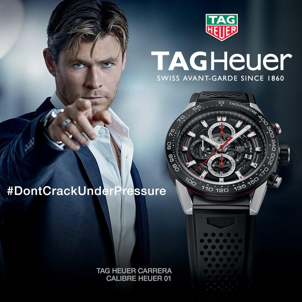 Slogan TAG Heuer