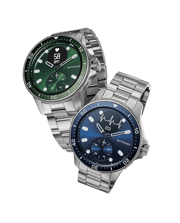 Montres connectées homme Withings SCANWATCH HORIZON