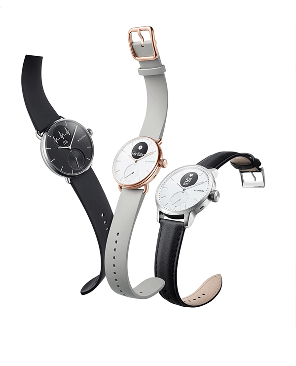 Montres connectées Withings SCANWATCH