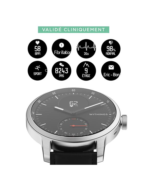 Des montres validées cliniquement