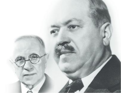 Edmond Zuccolo et Joseph Rochet